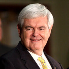 <b>Newt Gingrich</b> Former Speaker of the House from Georgia