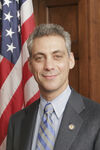 Rahm Emanuel, official photo portrait color