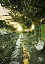 Tokyo aftermath subway