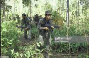 Cambodian troops in the jungle. Source- Getty Images