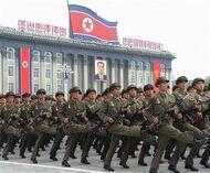 KPA military parade