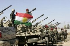 Iraqi Kurdish troops
