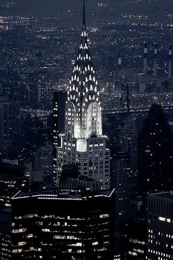 Chrysler building в Нью-Йорке