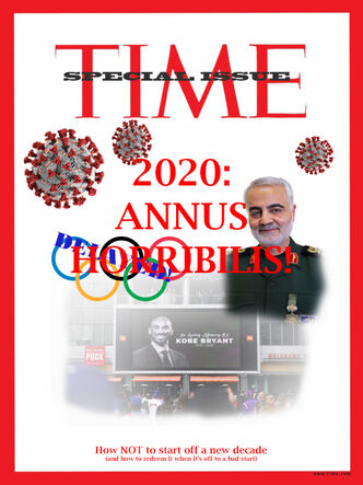 Time Magazine 2020 Annus Horribilis