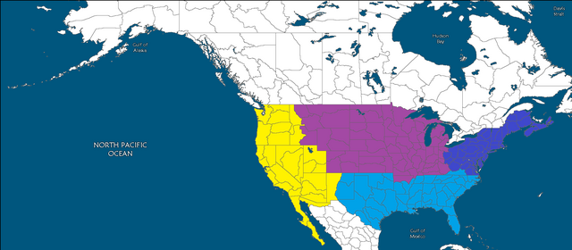 Image Second American Civil War Combanants Mappng Future - Future map of north america