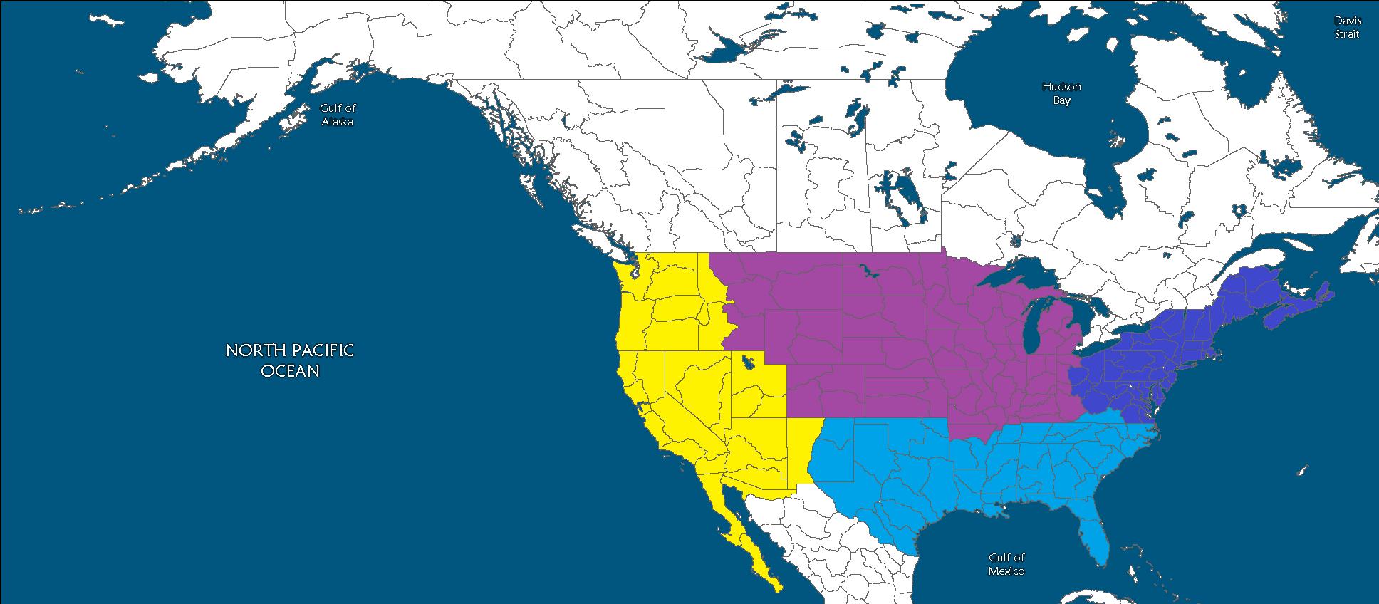 Image - Second American Civil War Combanants Map.png   Future ...