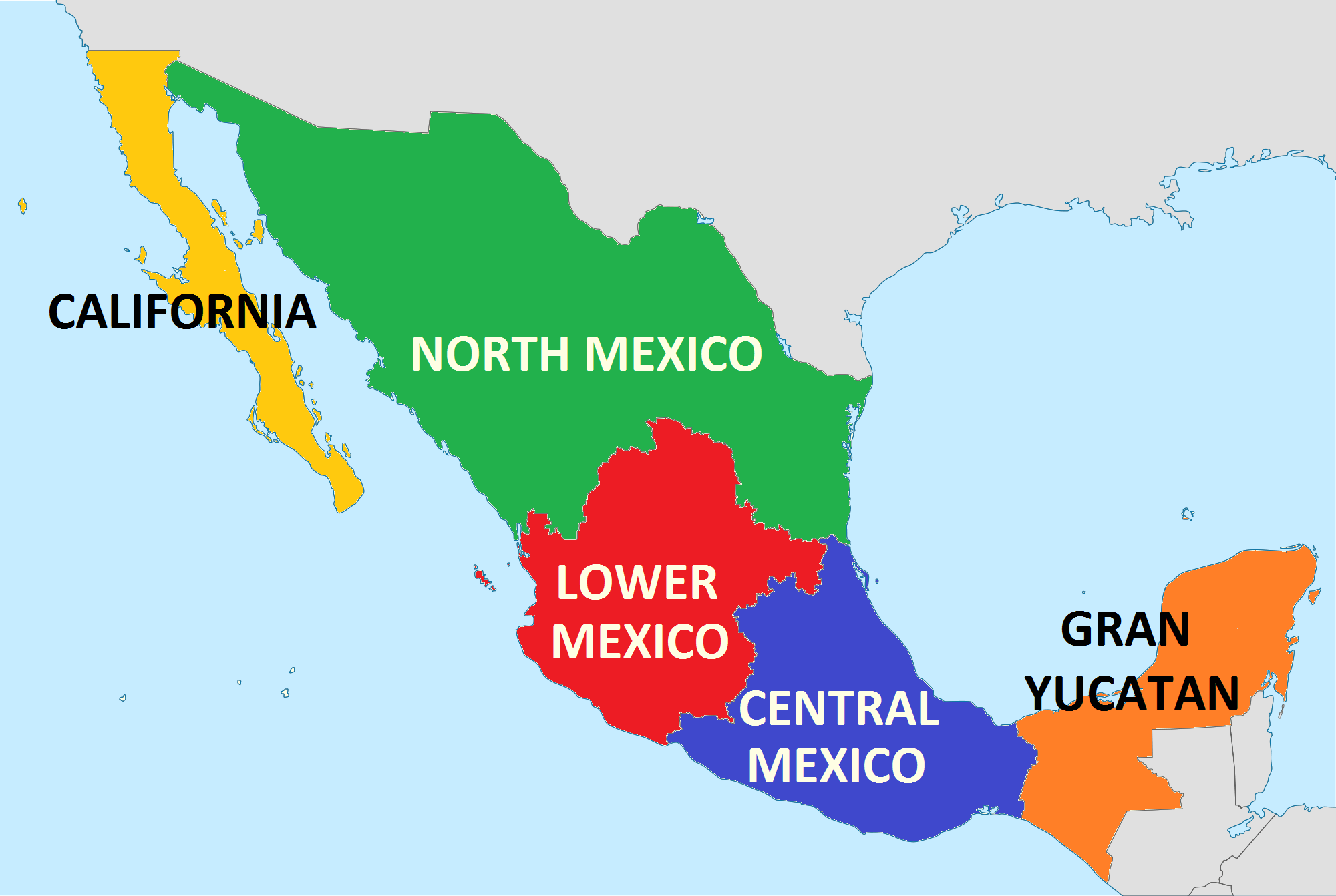 Image Mexican US Statespng Future FANDOM Powered By Wikia - Future map of us