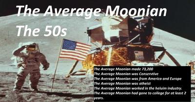 The Average Moonian