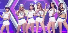 Корейская группа K-Pop