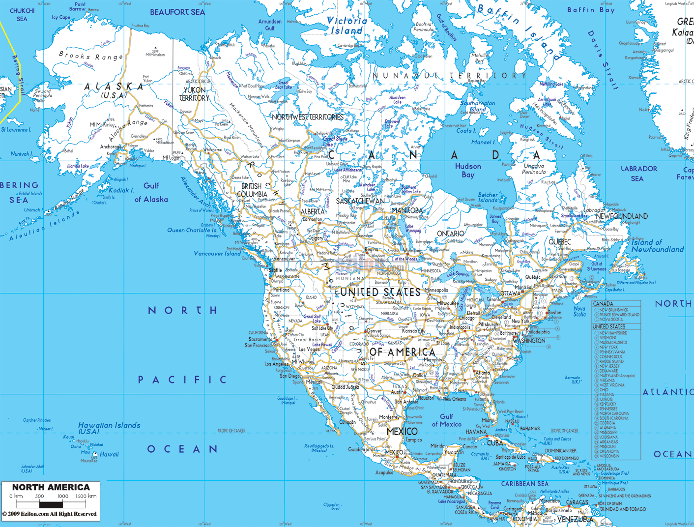 Useful maps future fandom powered by wikia a road map of north america gumiabroncs Images