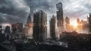 New York during intial blast