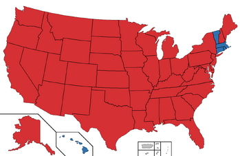 2020 Presidential election map