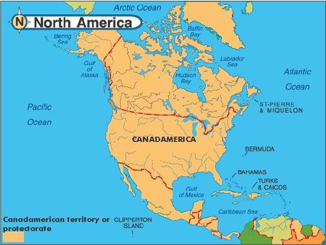 Image Map of north america 2050jpg Future FANDOM powered by