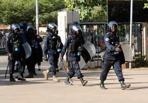 Полиция Гамбии