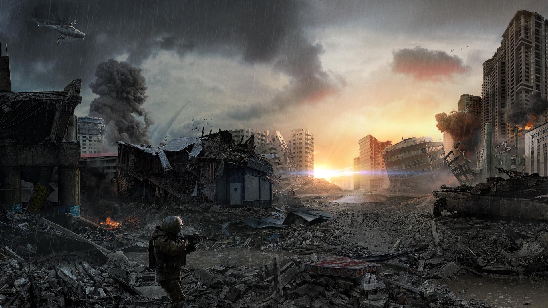 Scenario: World War 3 (Battle of Three Powers) | Future