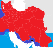 Iran War map 1