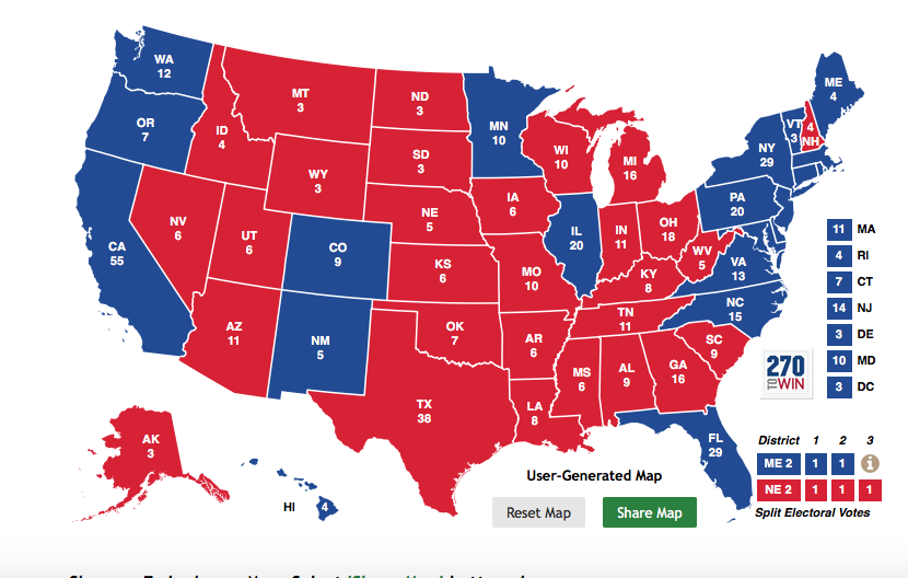 2028 Us Presidential Election Betaverse Future Fandom Powered - Us-presidential-election-map