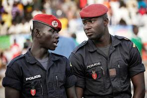 Гамбийские патрульные