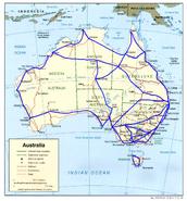 Australia High-speed rail map