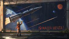 Soviet-Russia-space-маяк