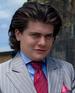 Weird suit guy