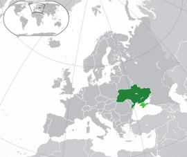 Украина карта