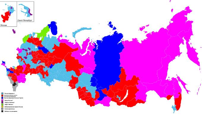 Карта одномандатников — копия