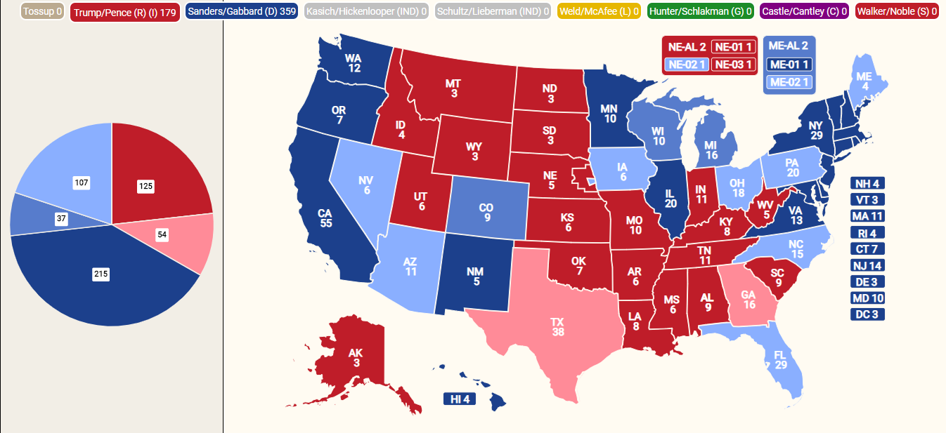 2020 United States presidential election (CameronHW ...