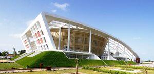Здание национальной Ассамблеи Гамбии