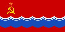 Флаг сталинистов постироничный