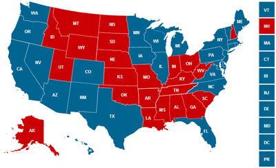 US Presidential Election JoesWorld Future FANDOM - Us wlectoral map prediction