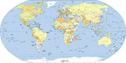Political world map3000-1-