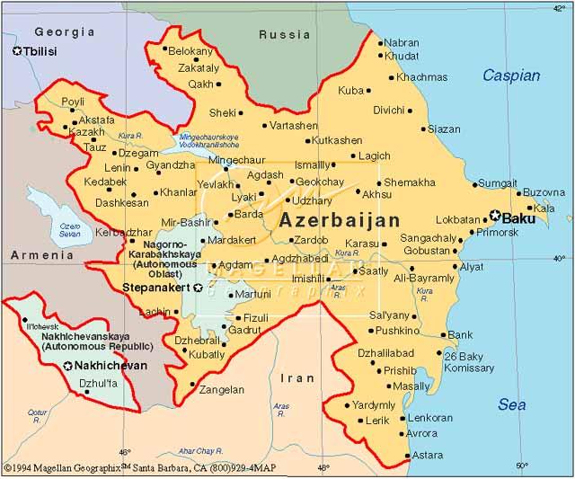 Image Azerbaijan Mapjpg Future FANDOM Powered By Wikia - Azerbaijan map