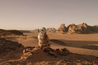 Человек на Марсе
