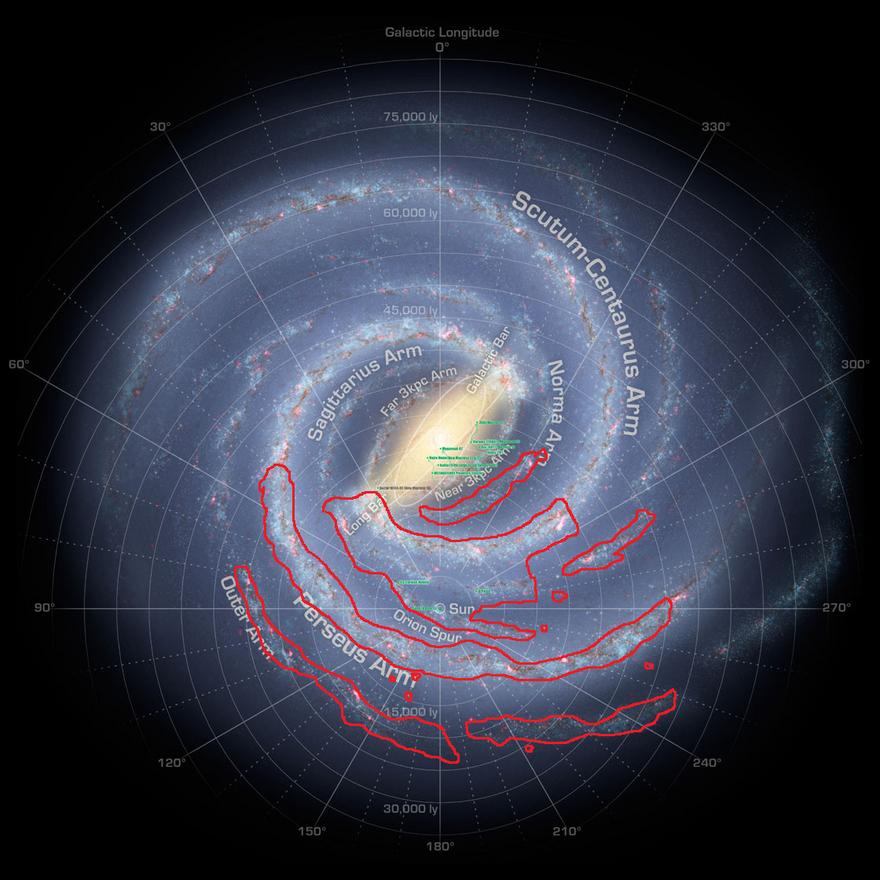 MilkyWay-Map (Human)