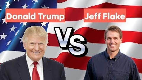 Jeff Flake vs Donald Trump - 2020 Republican Primary