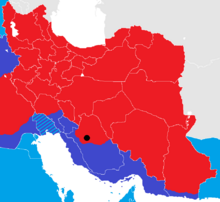 Iran War map 2
