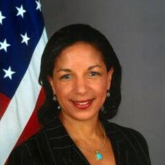 Former UN Ambassador Susan Rice
