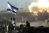 Israeli troops launch missile