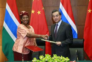 Гамбия - Китай