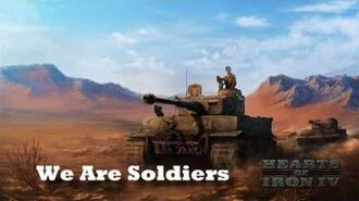 Hearts of Iron IV - We Are Soldiers