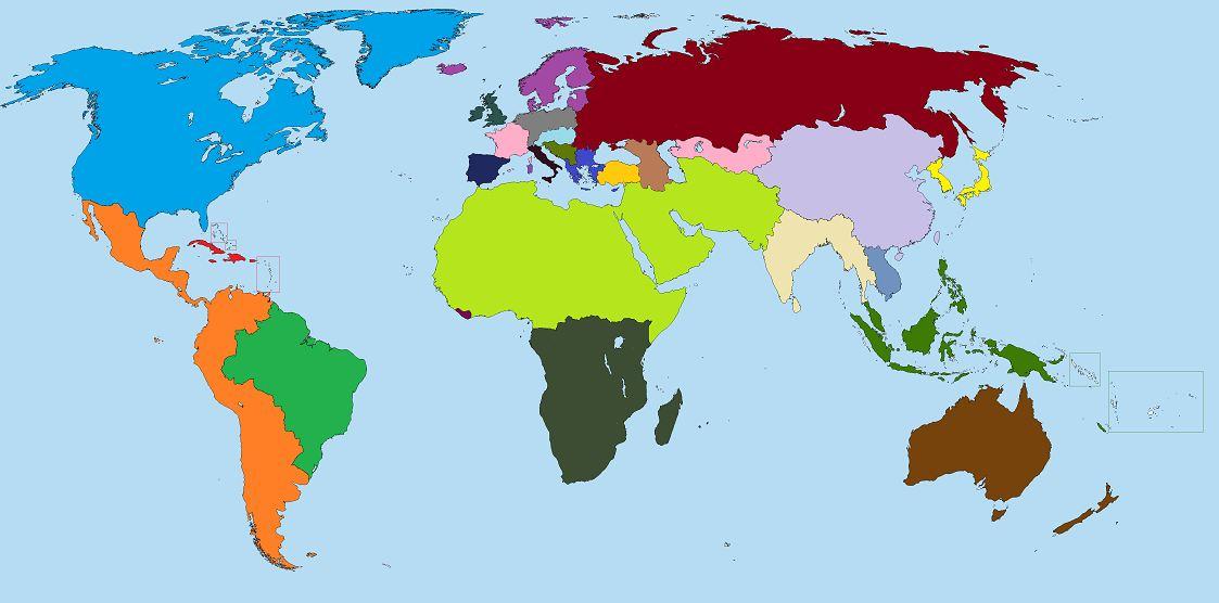 Future World Map Image   World Map. | Future | FANDOM powered by Wikia Future World Map