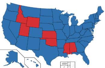 2036 Presidential election map