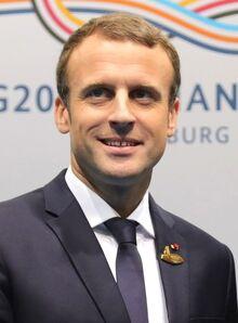Emmanuel Macron July 2017