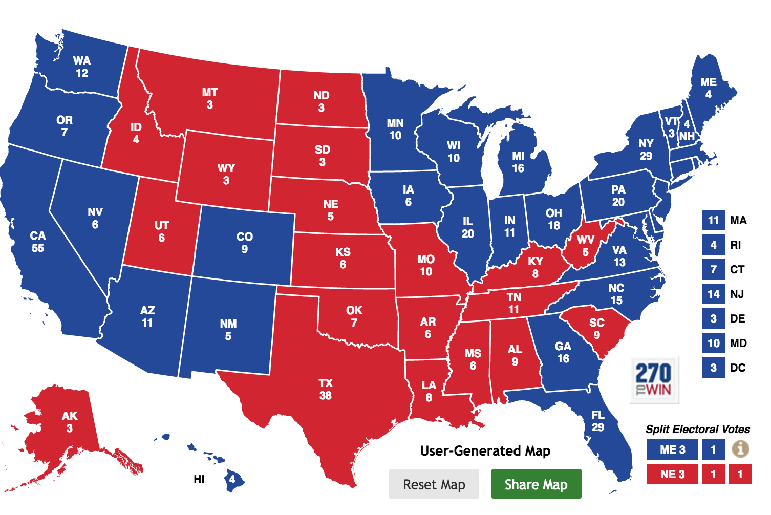 Presidential election 2020 date