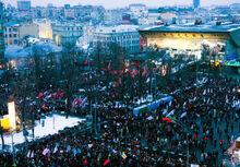 Митинги в марте
