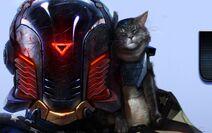 Sci-fi cat