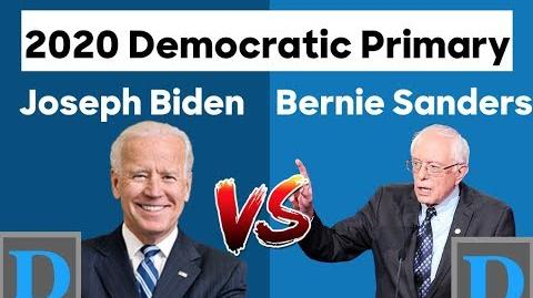 2020 Democratic Primary - Joe Biden vs Bernie Sanders