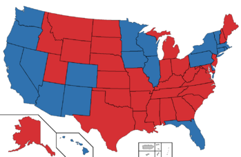 2024 Presidential election map