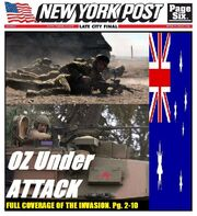 Post OZ invasion